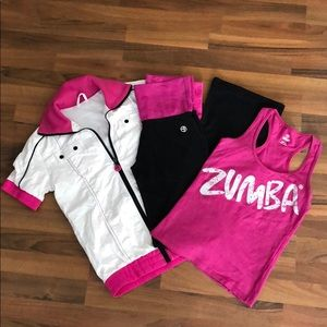 Retired Zumba Bundle Size Small